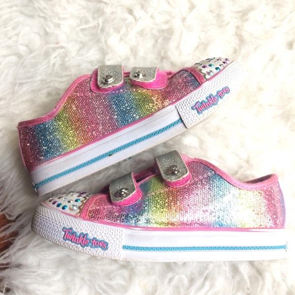 skechers rainbow twinkle toes